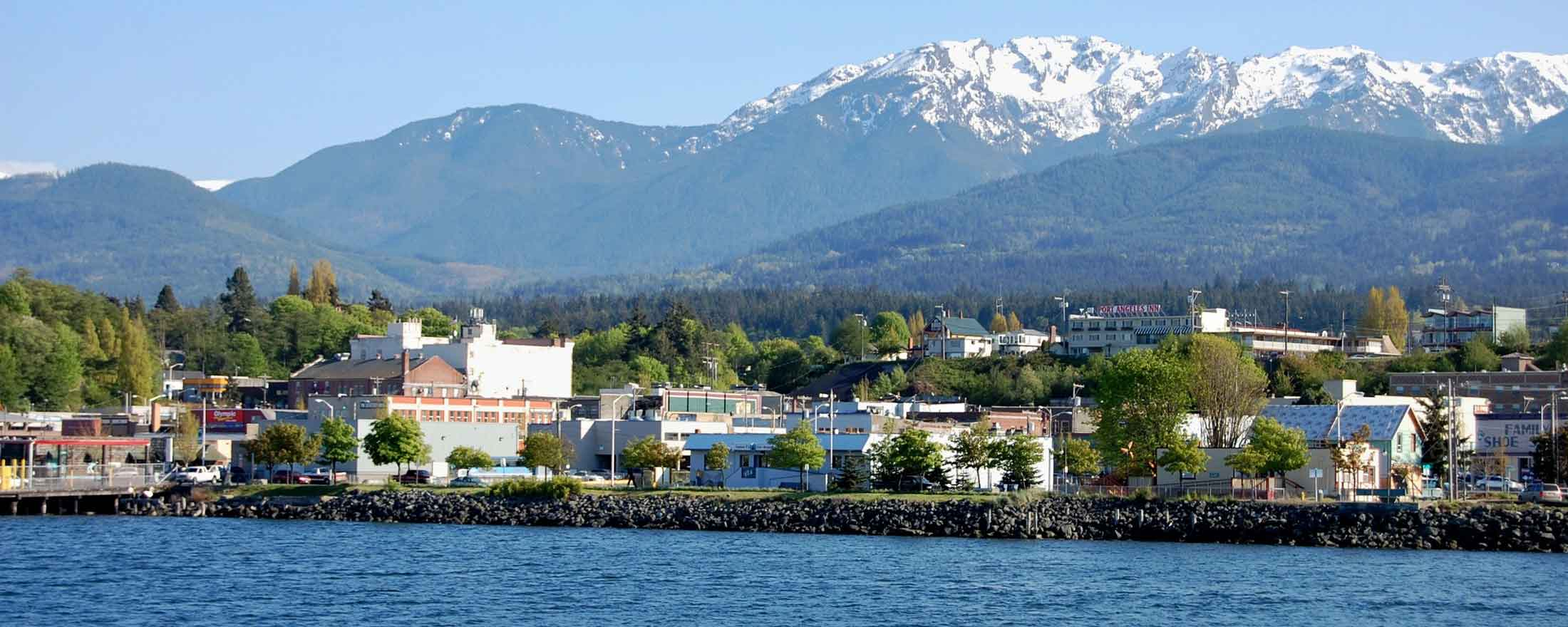 Olympics and Port Angeles